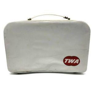 Vintage TWA Bag Travel Luggage Suitcase Briefcase